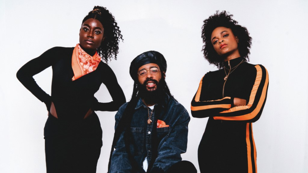Protoje with Sevana on left and Lila Ike. Photo: Yannick Reid