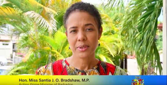 Acting Prime Minister, Santia Bradshaw.