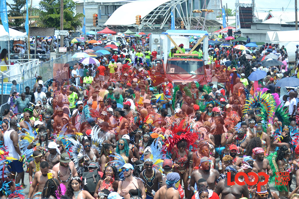 (File Photo) Grand Kadooment, 2019.
