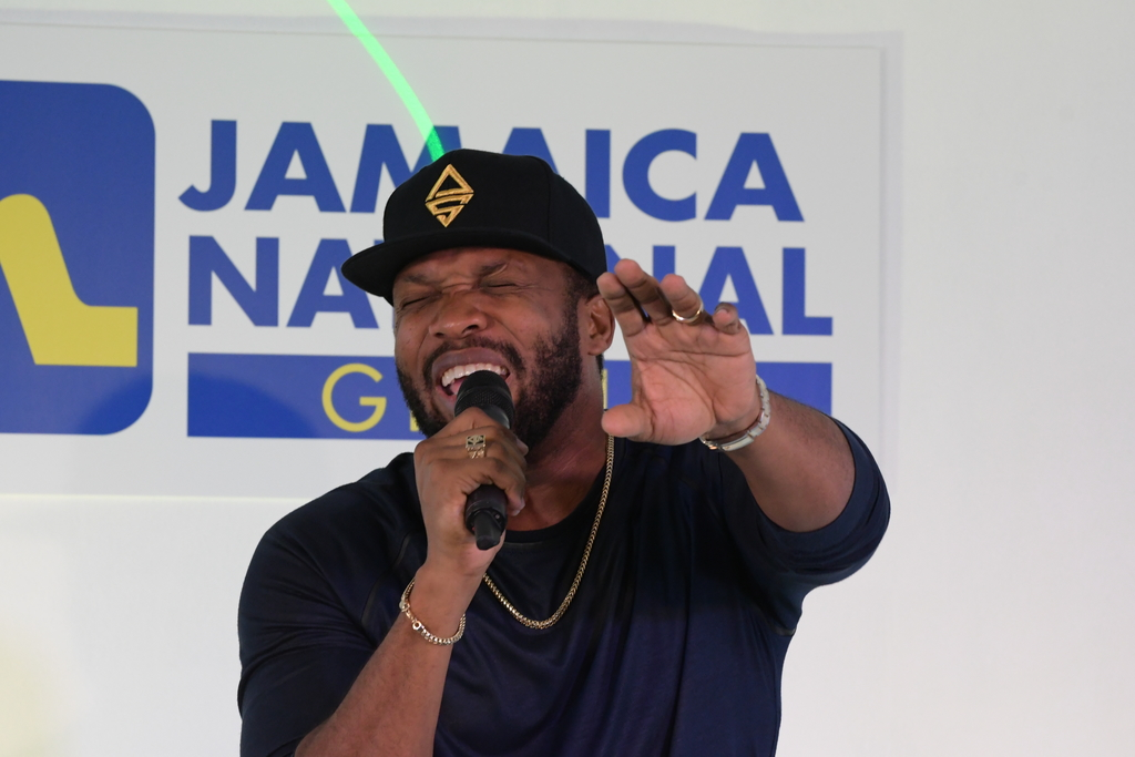 """Agent Sasco closed the show with conscious dancehall songs, drawn largely from what some may consider his watershed album, """"Hope River""""."""