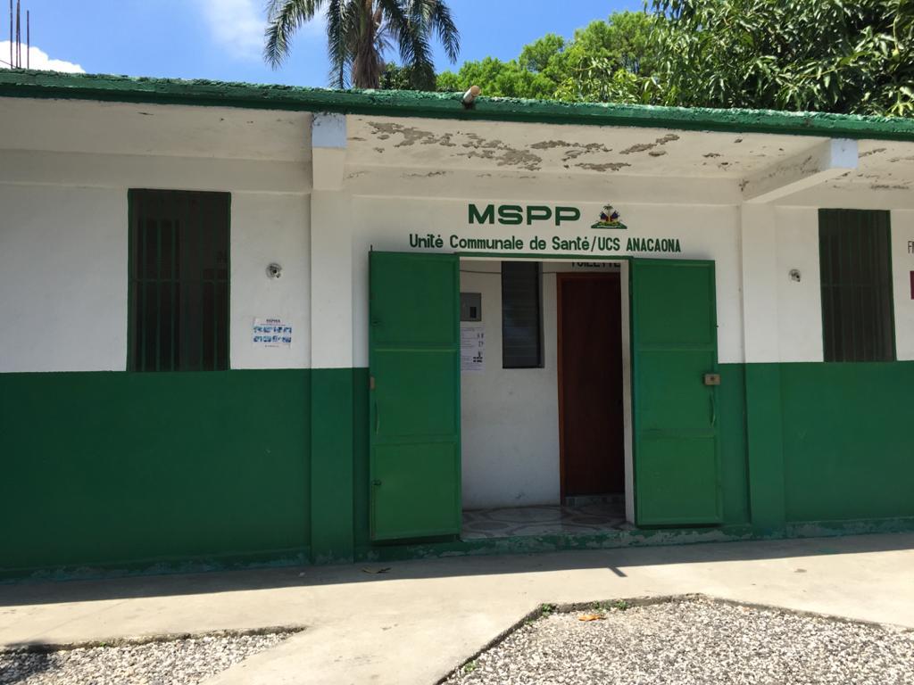 Les locaux de l'UCS/anacaona à Léogâne. Crédit photo: Yveson Pascal