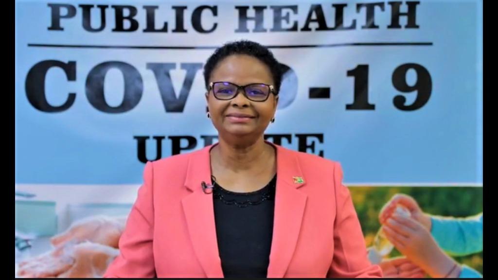 Public Health Minister Volda Lawrence.