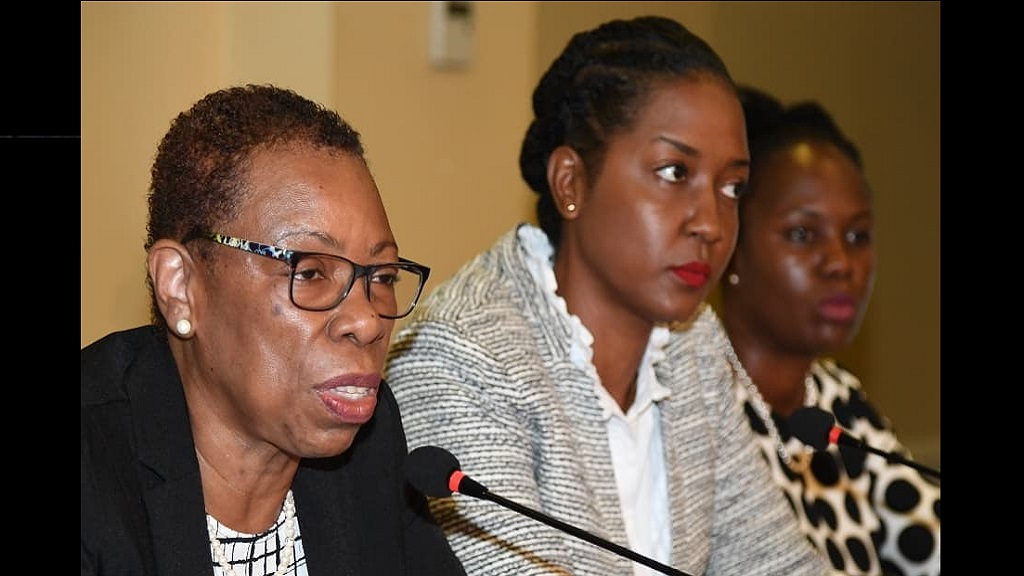 Director General of the Statistical Institute of Jamaica (STATIN) Carol Coy shares the  findings of the October 2019 Labour Force Survey.