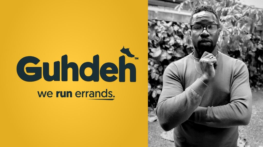 Guhdeh Errand Runners & Courier founder Wendell Richards is ready to take your orders. (Photos: Contributed)