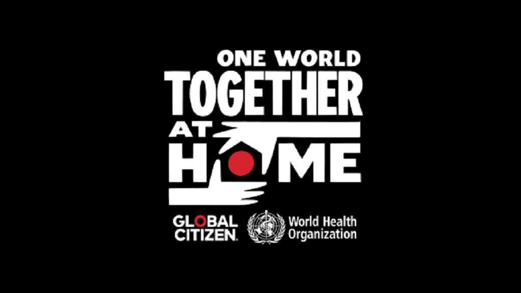 One World: Together At Home est une émission spéciale télévisée et diffusée à l'échelle mondiale à l'appui de la lutte contre la pandémie de COVID-19 qui sera diffusée le 18 avril.