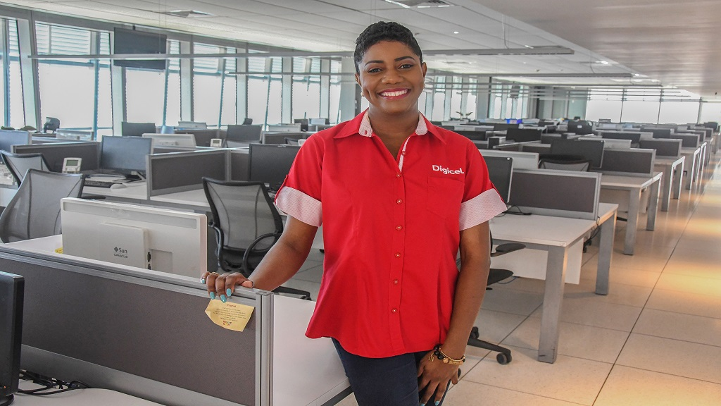 Pia Baker, Director of Customer Care and Experience at Digicel