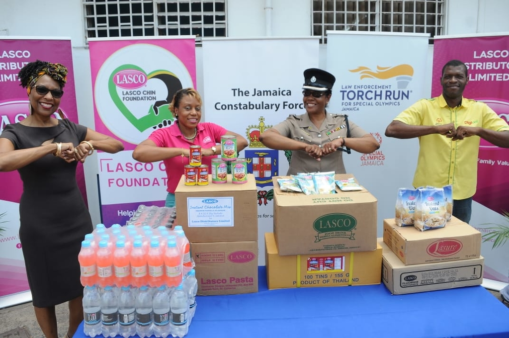 From left: Professor Rosalea Hamilton, CEO at the Lasco Chin Foundation; Renee Rose, corporate