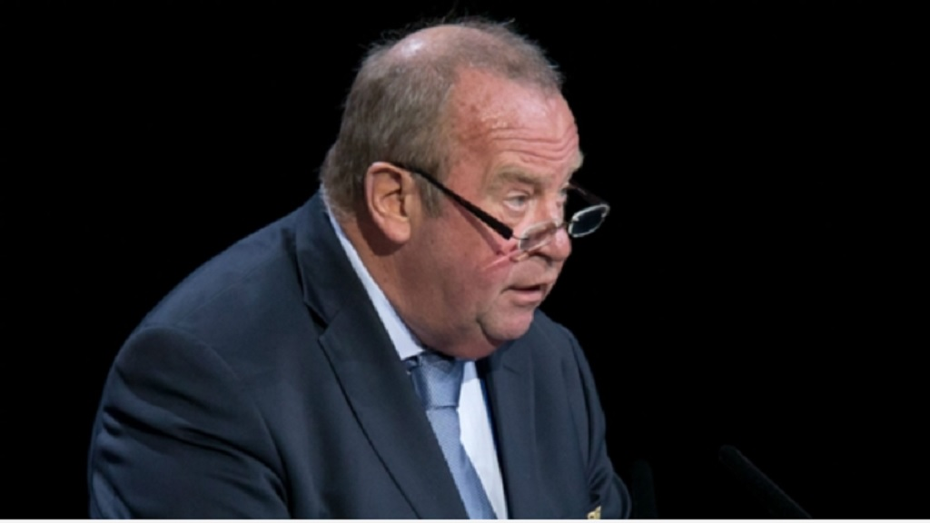 FIFA medical chief Michel d'Hooghe.