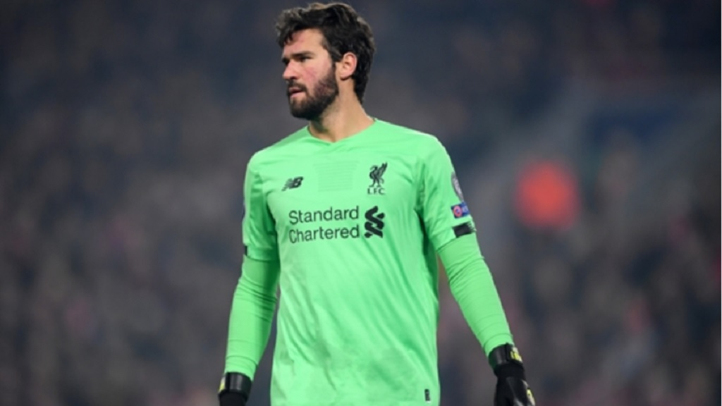 Liverpool goalkeeper Alisson.