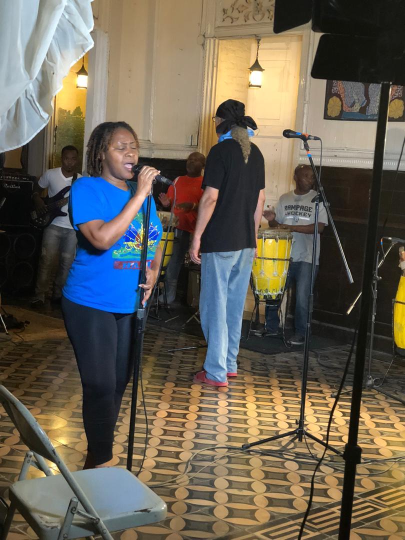 Le staff du groupe RAM, en pleine répétition. Crédit photo : Lyndia Dupré