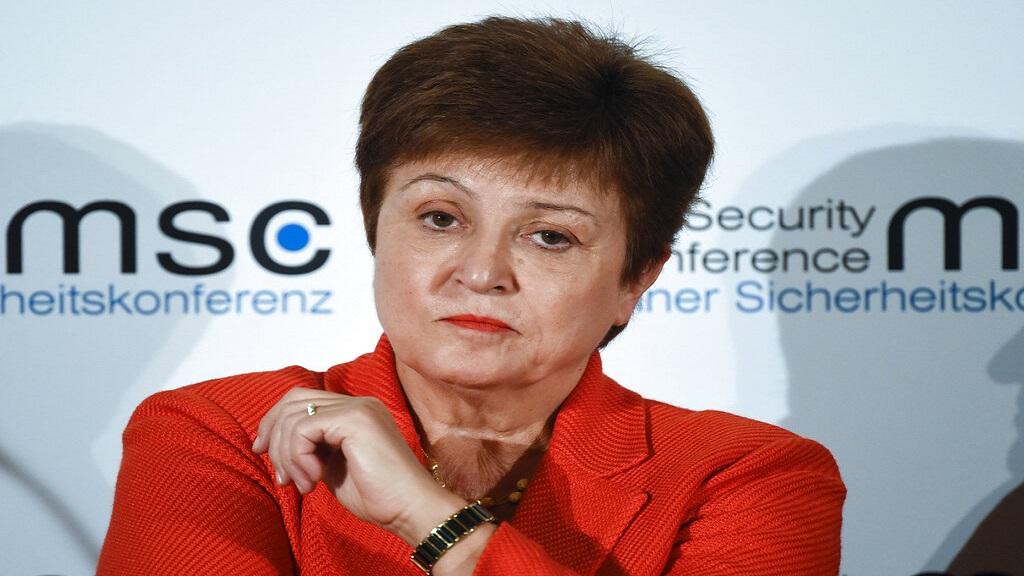 Kristalina Georgieva, Managing Director of the International Monetary Fund. (AP Photo/Jens Meyer, File)