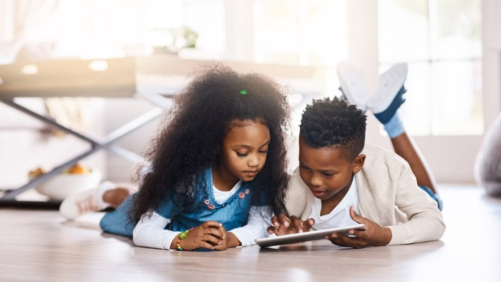 Children have to be using technology for more than entertainment, research and homework especially now during the 24-hour curfew with COVID-19 (FILE)