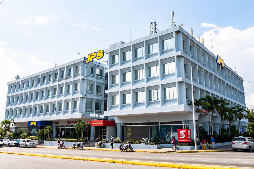 Jamaica Public Service's head office on Knutsford Boulevard in New Kingston.