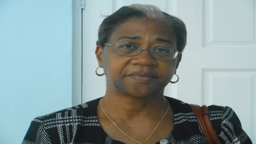 Minister of Health, Senator Hon. Mary Isaac