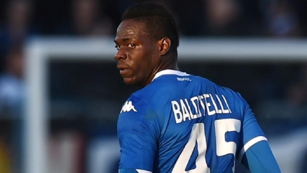 Brescia's Mario Balotelli.
