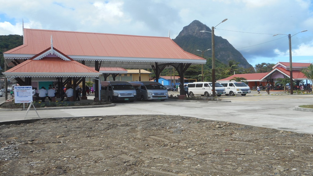 Old Trafford Square in Soufriere