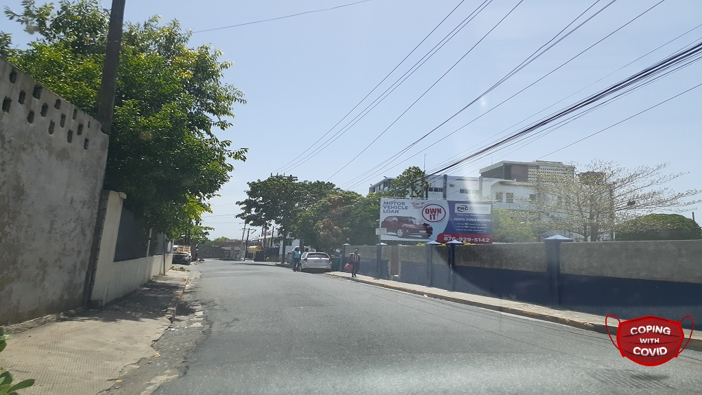 A section of Eureka Road in St Andrew. (Photo: Marlon Reid)