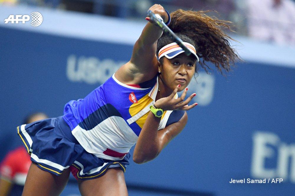 Naomi Osaka. Photo: AFP