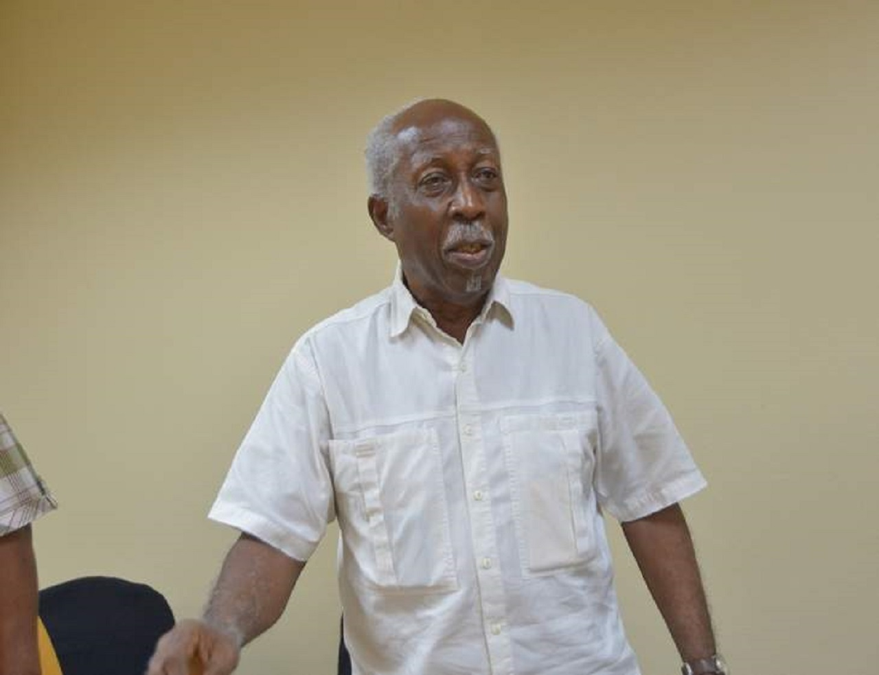 Former head of the Public Service, Reginald Dumas