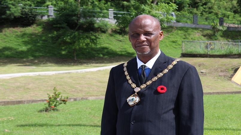Castries Mayor Peterson Francis