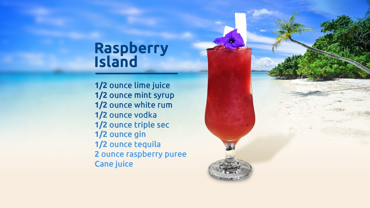 The Raspberry Island by Trevor Luke.