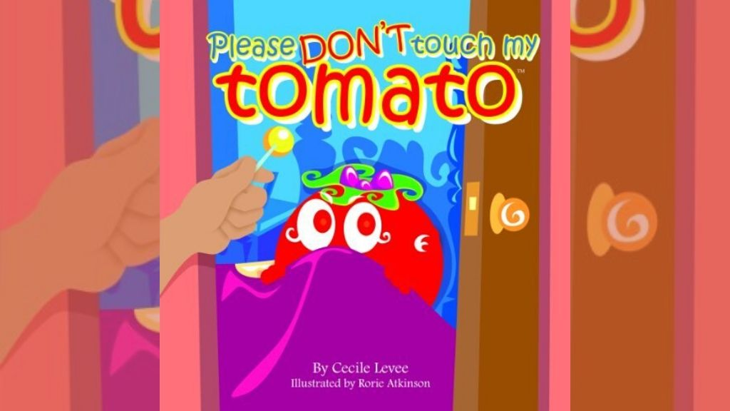 Please don't touch my Banana, a children's book by Cecile Levee.