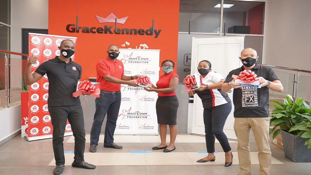 The GraceKennedy entities have donated a wide-range Wi-Fi extension that will allow students in the surrounding community to complete school lessons currently impeded by no internet access.