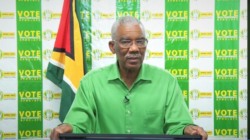 President David Granger.