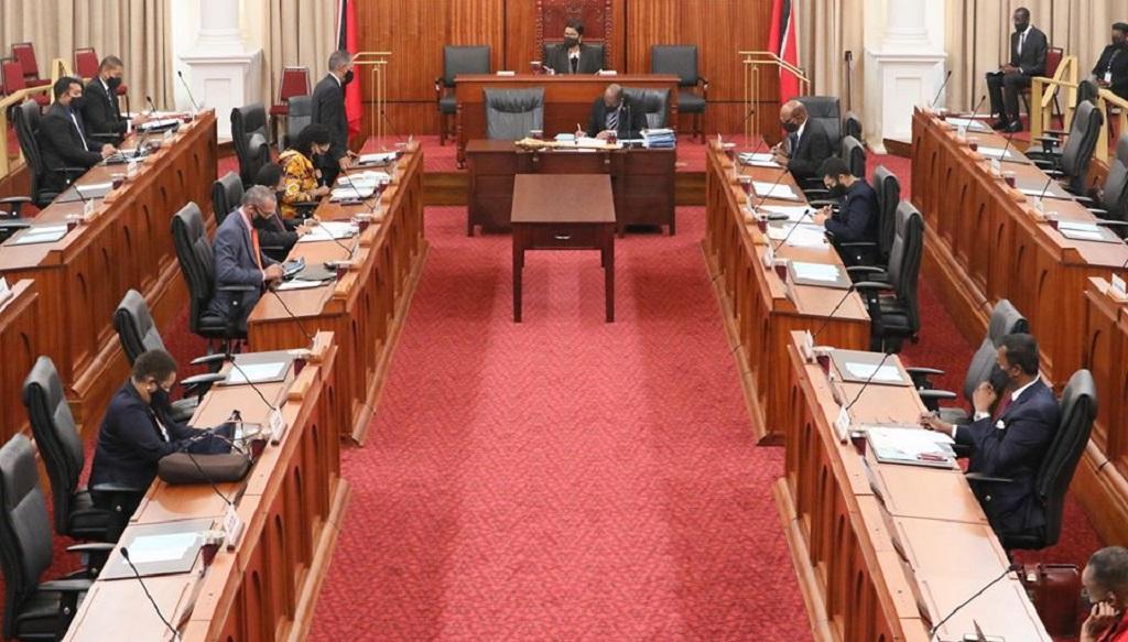 Photo courtesy Parliament of Trinidad and Tobago.