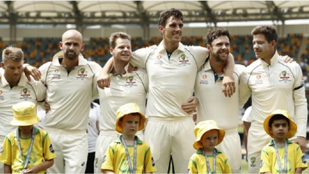Top-ranked Test side Australia.