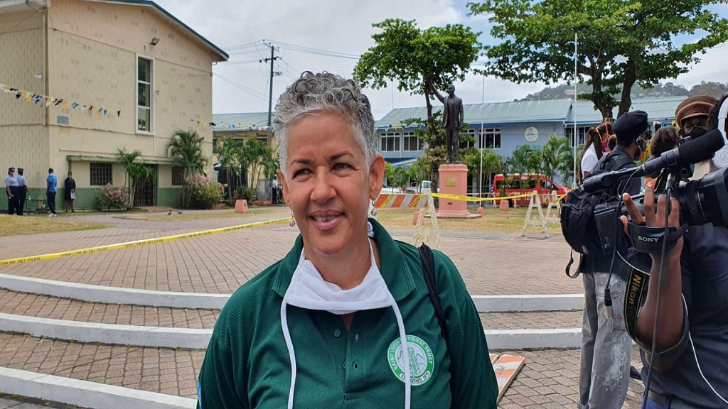 St Lucia National Trust Chairperson, Alison King
