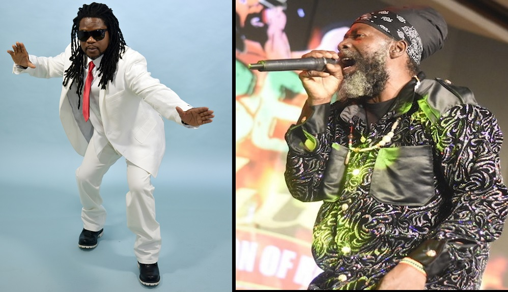 Black Ice (left) and Capleton
