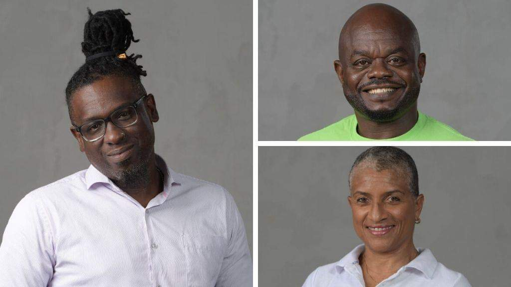 Pictured: Technical Assistant, Sean C. Alleyne; Engineering and Maintenance Supervisor, Victor Francis and; Industrial Relations Officer, Diane Henderson