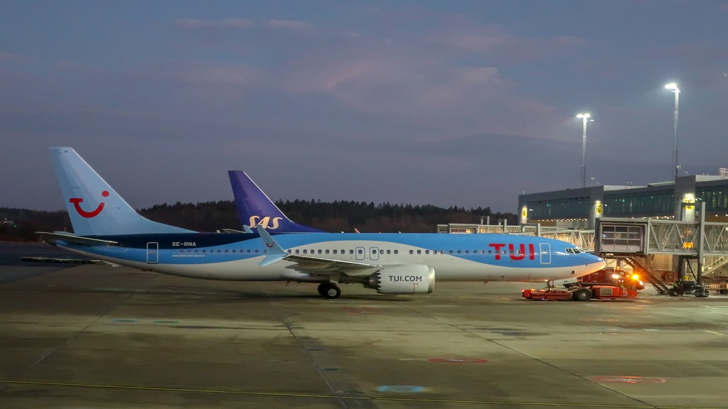 iStock photo of a Tui aircraft similar to the one occupied by stranded Jamaicans on their flight home on Wednesday.