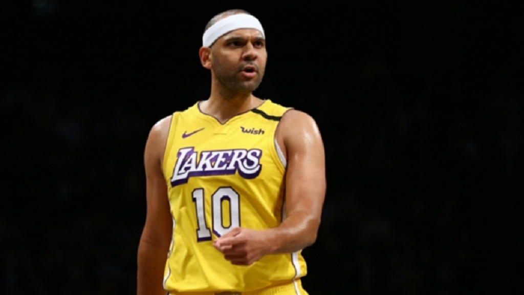 LA Lakers' Jared Dudley.