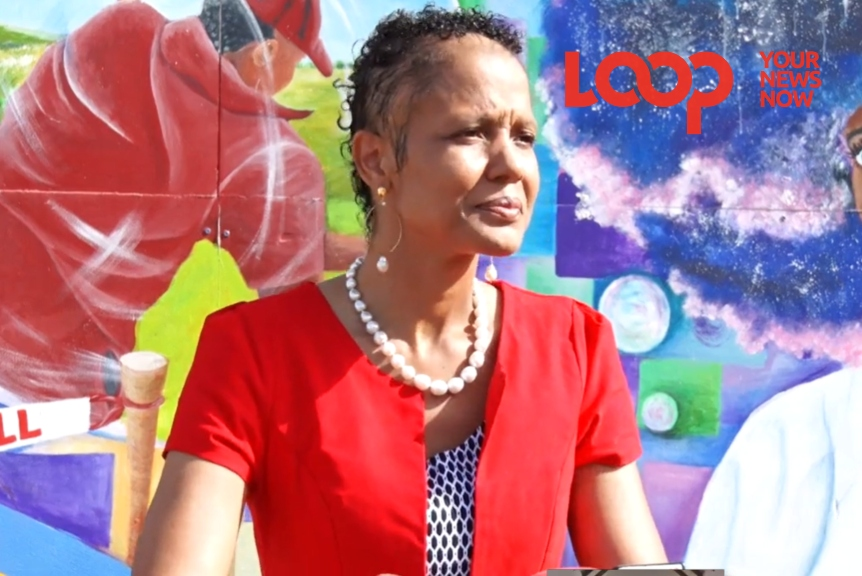 Minister of Education, Technological and Vocational Training Honourable Santia Bradshaw 