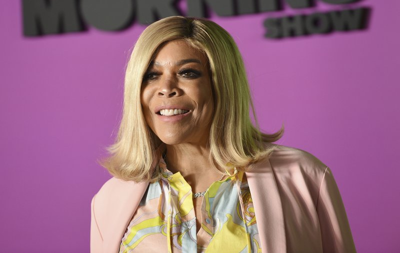 Wendy Williams attends the world premiere of Apple TV+'s The Morning Show in New York. Williams is taking a break from her daytime talk show to receive treatment for a previously announced health condition. A spokesperson for The Wendy Williams Show said that Williams has been suffering fatigue because of symptoms from Graves' disease. (AP Photo)