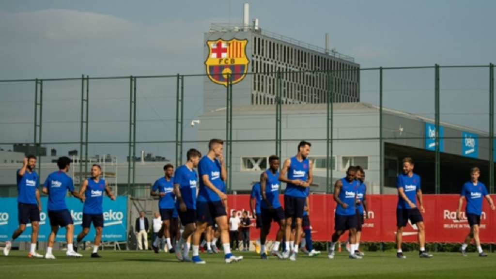 Barcelona's players will return to individual training on Friday.