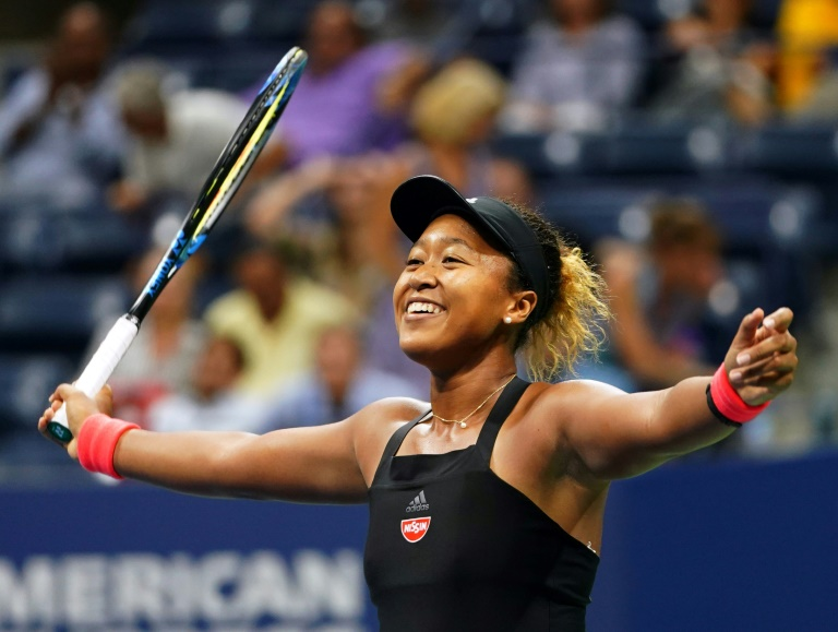 History maker: Naomi Osaka of Japan / © AFP