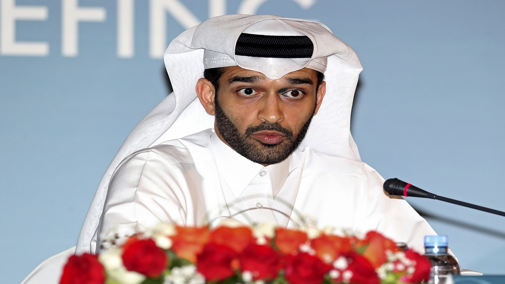 In this Thursday, Feb 25, 2015 file photo, Hassan Al Thawadi, head of the Qatar 2022 World Cup organising committee speaks during a press conference, in Doha. (AP Photo/Osama Faisal, File).
