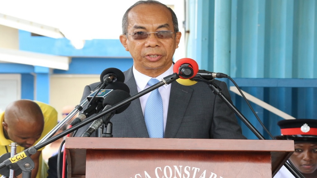 Minister of National Security,DrHorace Chang