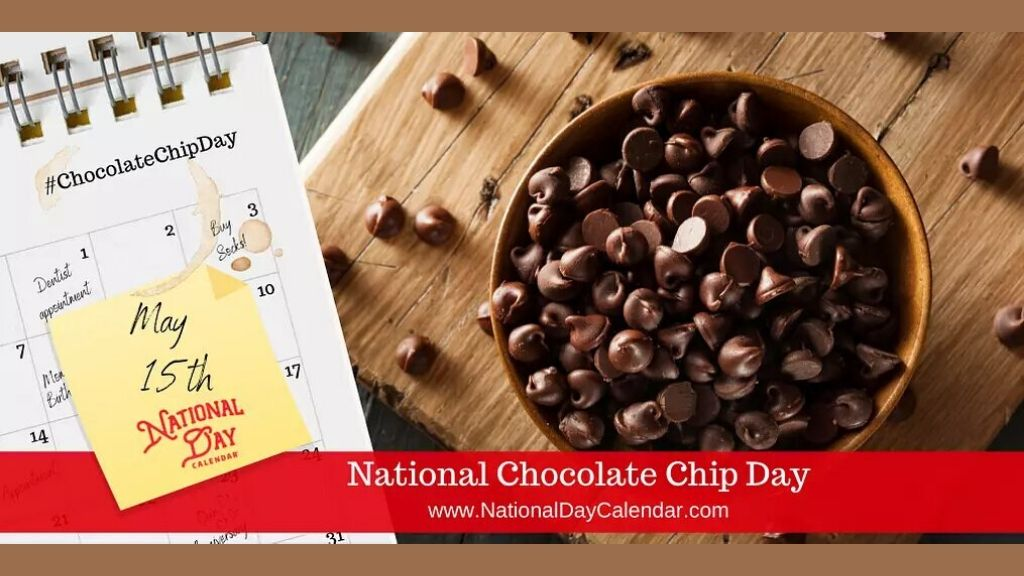 Today, May 15 marks National Chocolate Chip Day 2020.