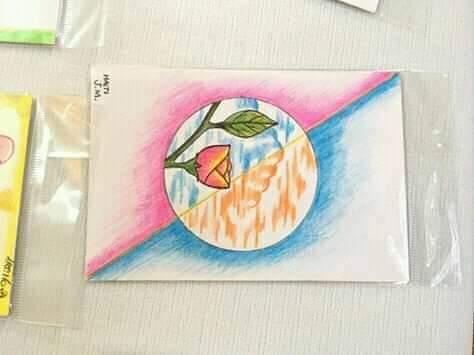 Illustration de carte de fête des Mères fabriqués par des détenus  au pénitencier national. CP : Page Facebook de Katizana