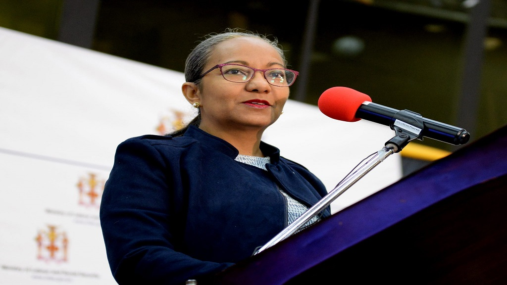 Colette Roberts Risden, Permanent Secretary in the Ministry of Labour and the Social Security. (Photo via the Jamaica Information Service)