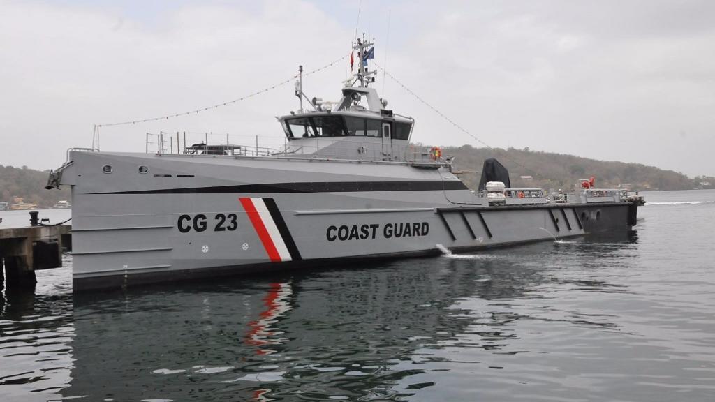Pictured: Trinidad and Tobago Coast Guard (TTCG) vessel