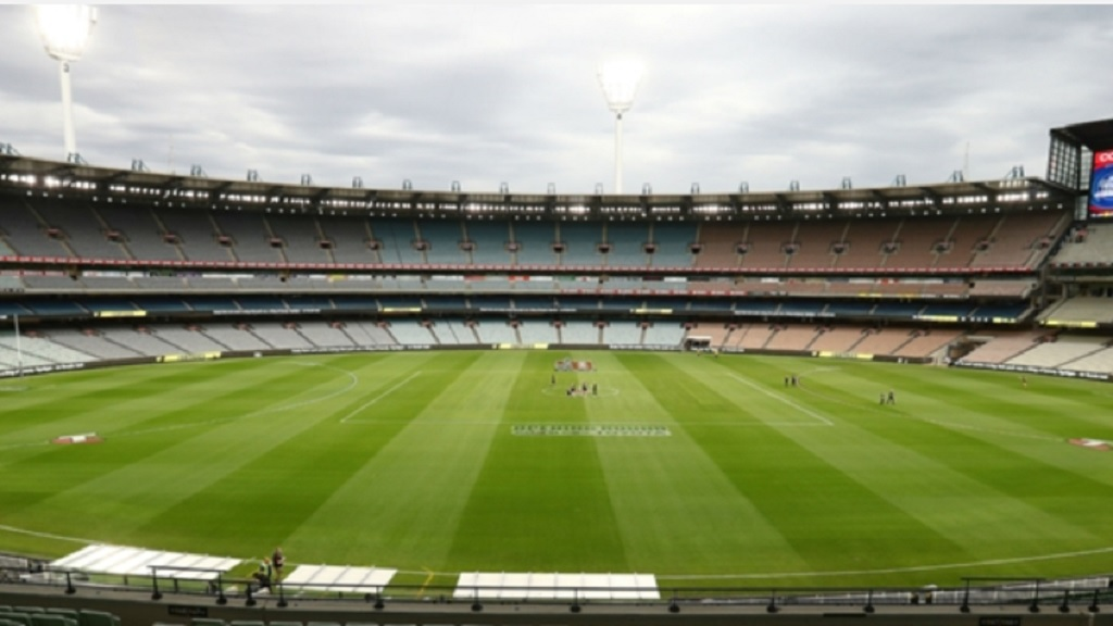 The MCG may host a Test without any fans present this year.