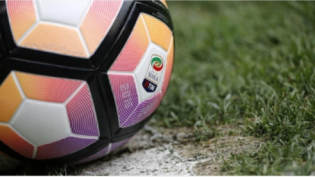 A Serie A ball.
