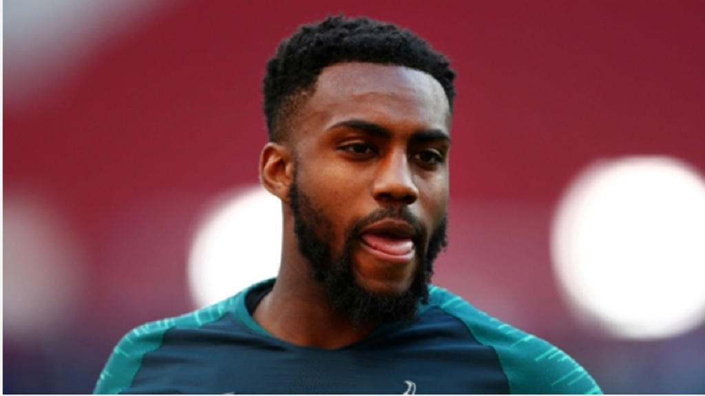 Danny Rose, who is on loan at Newcastle United from Tottenham.