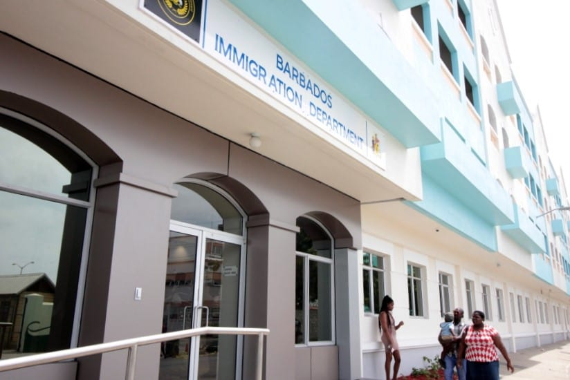 Barbados Immigration Department (FILE)
