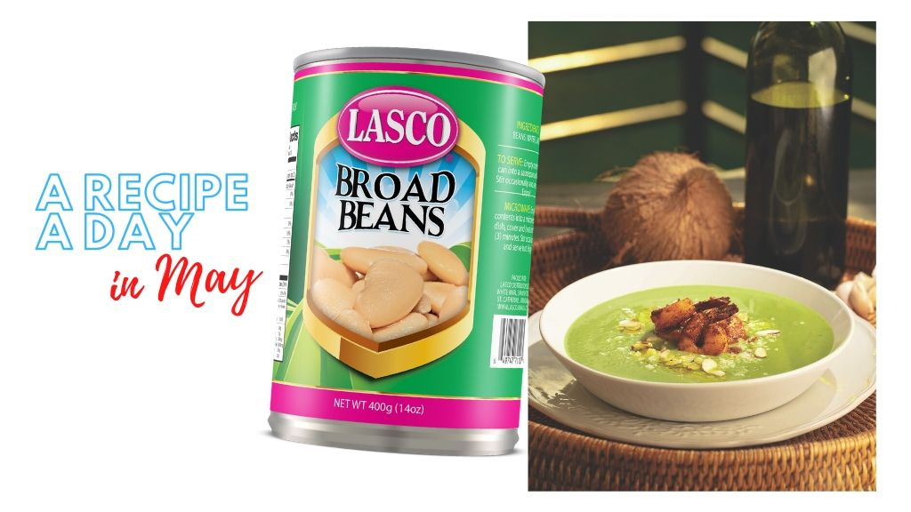 A Recipe A Day in May: Lasco Broad Bean and Green Pea Bisque. (Photos: Contributed)